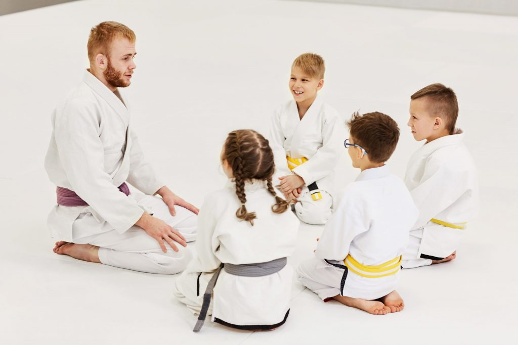 Martial arts lessons for kids